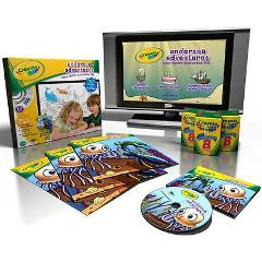 Crayola Undersea Adventures Color Stories Interactive DVD