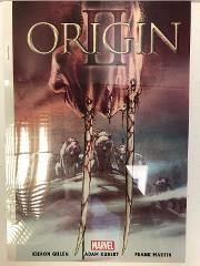 Origin II #1 Acetate Preview Comic Book Cover Andy Kubert Marvel