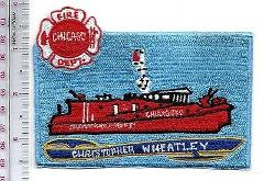 Fire Boat Illinois Chicago Fire Department Christopher Wheatle...