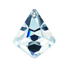 Swarovski Strass 40mm Clear Faceted Cone Ball Crystal Prism