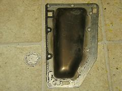 1988 88 US Marine Force 50HP 50 HP Exhaust Port Plate Cover