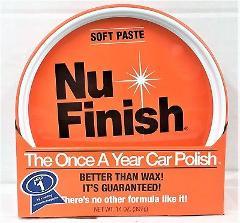 Nu Finish Car Polish Soft Paste 14 oz