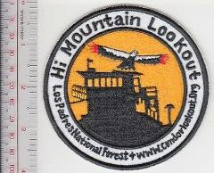 Lookout Fire Crew California USFS Hi Mountain Lookout Los Padr...