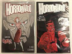 Horrorwood #1 and 2 Comic Book Set Ape Entertainment 2006