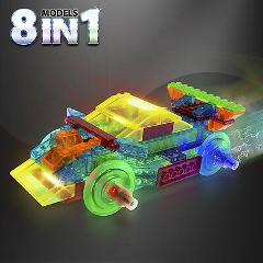 Laser Pegs 8 in 1 Power Block Sports Car 8 Lighted Models Lig...
