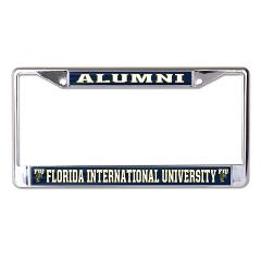 FIU Panthers Alumni Chrome License Plate Frame