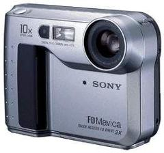 Sony MVCFD75 Mavica 0.3MP Digital Camera
