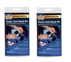 2pk~PERMATEX 09100 PLASTIC TANK REPAIR KIT Professional-Qualit...
