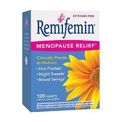 Enzymatic Therapy Remifemin Estrogen-Free Menopause Relief 120...