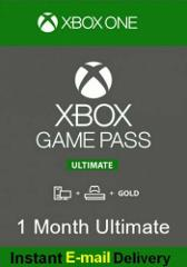 INSTANT DELIVERY- Xbox Live 1 Month Gold & Game Pass Ultimate...