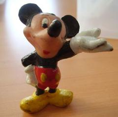 mickey figure and WENDY miniatures