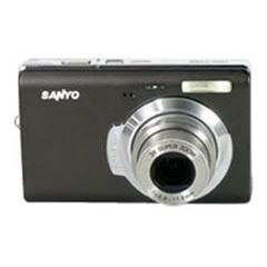 SANYO FISHER VPC-T700, 7MP, 3X OPTICAL ZOOM DIGITAL CAMERA (BR...
