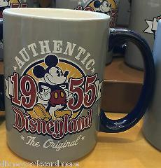 DISNEYLAND MICKEY MOUSE AUTHENTIC THE ORIGINAL 1955 CERAMIC CO...