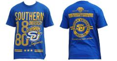 Southern University of Baton Rouge short sleeve college T shir...