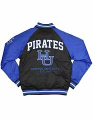HAMPTON UNIVERSITY LETTERMAN JACKET HBCU BASEBALL JACKET