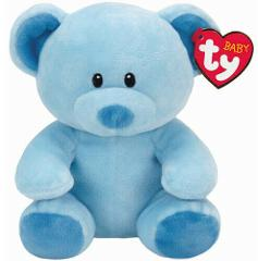 TY Baby Lullaby the Blue Bear (Soft & Smooth for Infants) - Me...