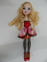 Ever After High Apple Toy Doll Mattel Blonde Hair Articulated ...