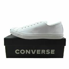 Converse Jack Purcell LEA OX White Leather Casual Shoes 1S961 ...