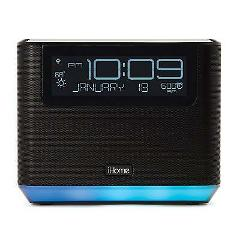 iHome iAVS16 Bedside Speaker with Alexa Built In, Bluetooth, a...