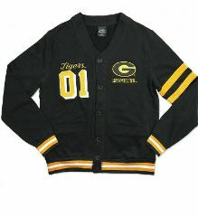 GRAMBLING STATE UNIVERSITY CARDIGAN SWEATER MEN'S HBCU CARDIG...