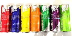 Red Bull Editions Variety Pack - Red, Blue, Yellow, Orange, Pu...