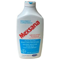 1 Mexsana Medicated Powder Topical Starch Skin Protectant 11oz