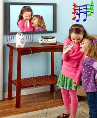 Kids Karaoke Machine with Camera and MP3 Player