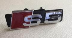 Audi S5 Logo Front Grill Badge Emblem Decal for all Audi S5 A5...