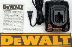 NEW DEWALT DW9226 7.2V-18V 1 Hour NiCd Battery Charger For DC9...