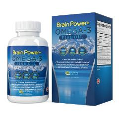 Omega 3 Fish Oil Brain Power No Fishy Aftertaste Wild Anchovy ...