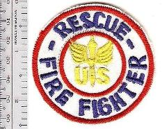US Air Force Army Air Corps WWII Fire Rescue Airman Firefighte...