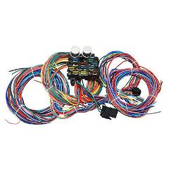12 Circuit Street Hot Rat Rod Custom Universal Color Wiring Wi...