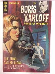 Boris Karloff Tales of Mystery #25 Comic Book Whitman 1969
