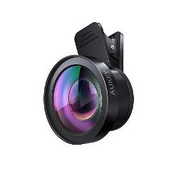 AUKEY Ora iPhone Camera Lens, 0.45 x 120 Wide Angle + 15x Macr...