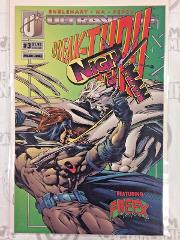 The Night Man #3 Comic Book Malibu 1993