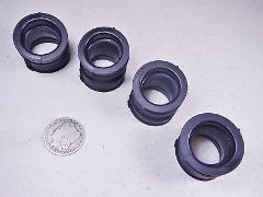 77-78 CB750F SuperSport Carburetor Intake Rubber Boot Tube Cup...