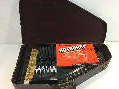 Vintage Oscar Schmidt Autoharp with Hard Case and Accessories ...