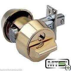 Mul-t-lock MT5+ Hercular Double Cylinder Captive key Deadbolt ...