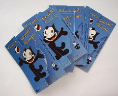 Felix the Cat Greeting Cards Set Spanish Felix el Gato Set Tar...