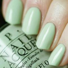 OPI Soft Shades Pastel THIS COST ME A MINT Light Pale Green Na...
