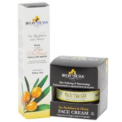 Bee By The Sea Buckthorn and Honey Rejuvenating Face Cream an...