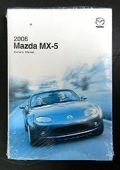 2006 Mazda MX-5 Miata Owners Manual Parts Service New Original...