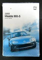 2006 Mazda MX-5 Miata Owners Manual Parts Service New Original...