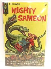 Mighty Samson #14 Comic Book Gold Key 1968