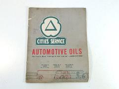 1959 Cities Service Automotive Oils For Truck Bus Transport Tr...