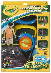 Crayola Washable Colors Kids Motorized Sidewalk Design Draw An...