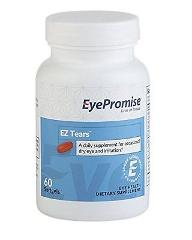 EyePromise EZ Tears Eye Vitamin Occasional Dry Eye Relief Supp...