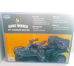 Game Winner ATV Complete Bag Set FENDER BAG SADDLE BAG AND CAR...