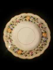 19th Century W. B. & CO Opaque Granite China Flower Floral Sou...