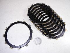12 YAMAHA YZ250 YZ 250 CLUTCH FRICTION FIBER FIBRE PLATES DISC...